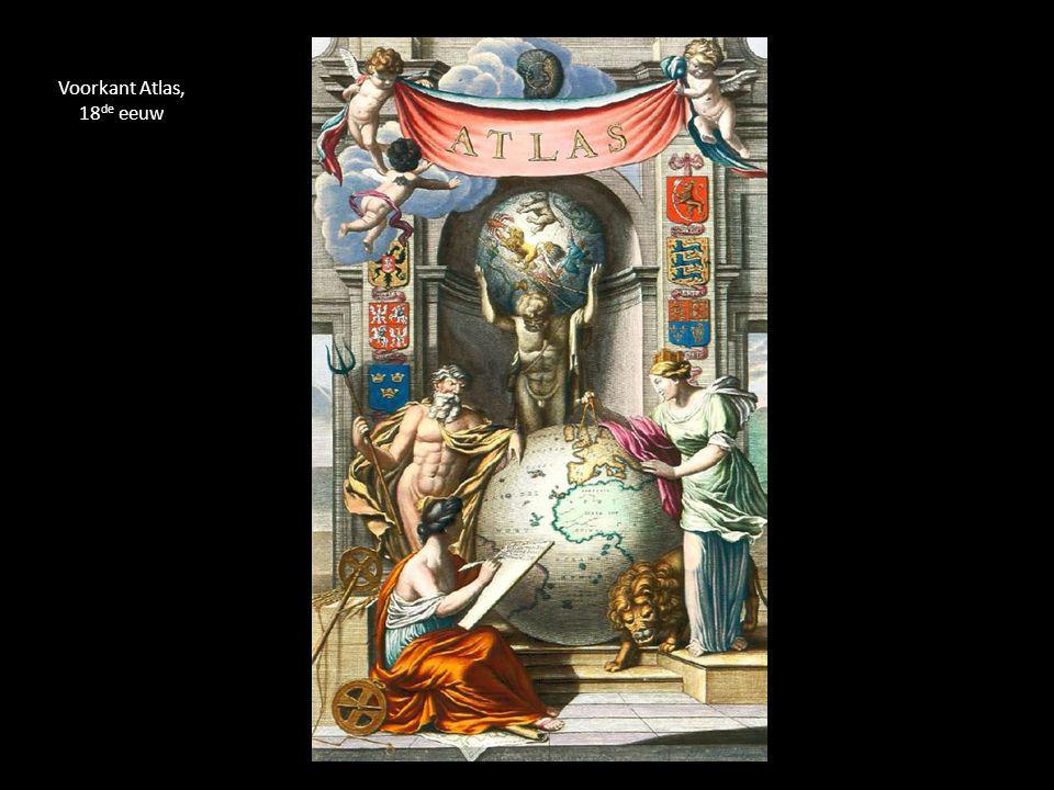 Voorkant Atlas, 18de eeuw