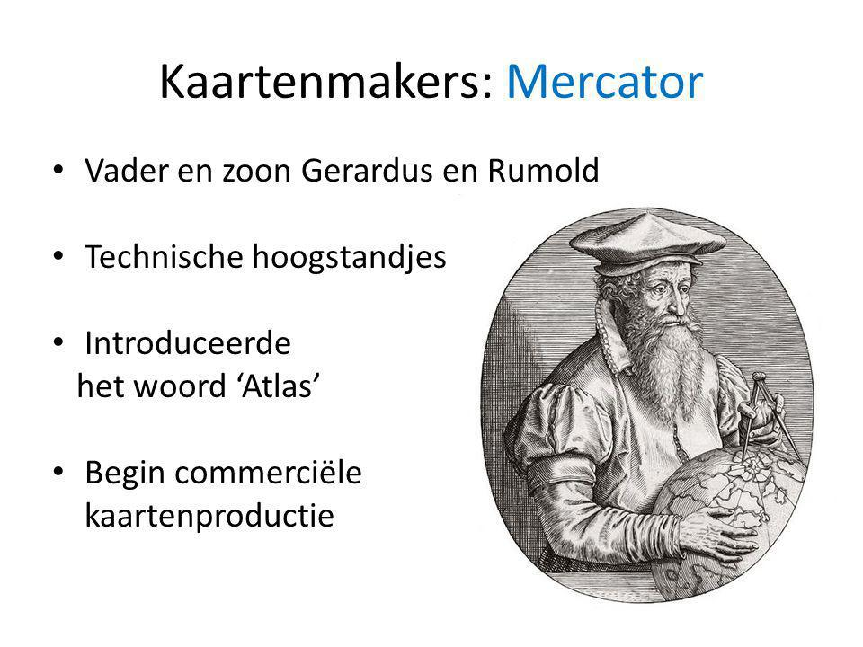Kaartenmakers: Mercator