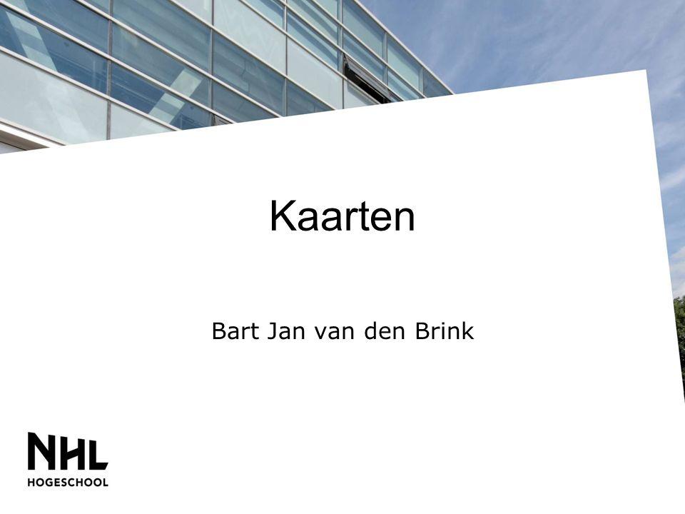 Kaarten Bart Jan van den Brink