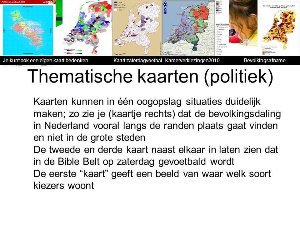 Thematische kaarten (politiek)