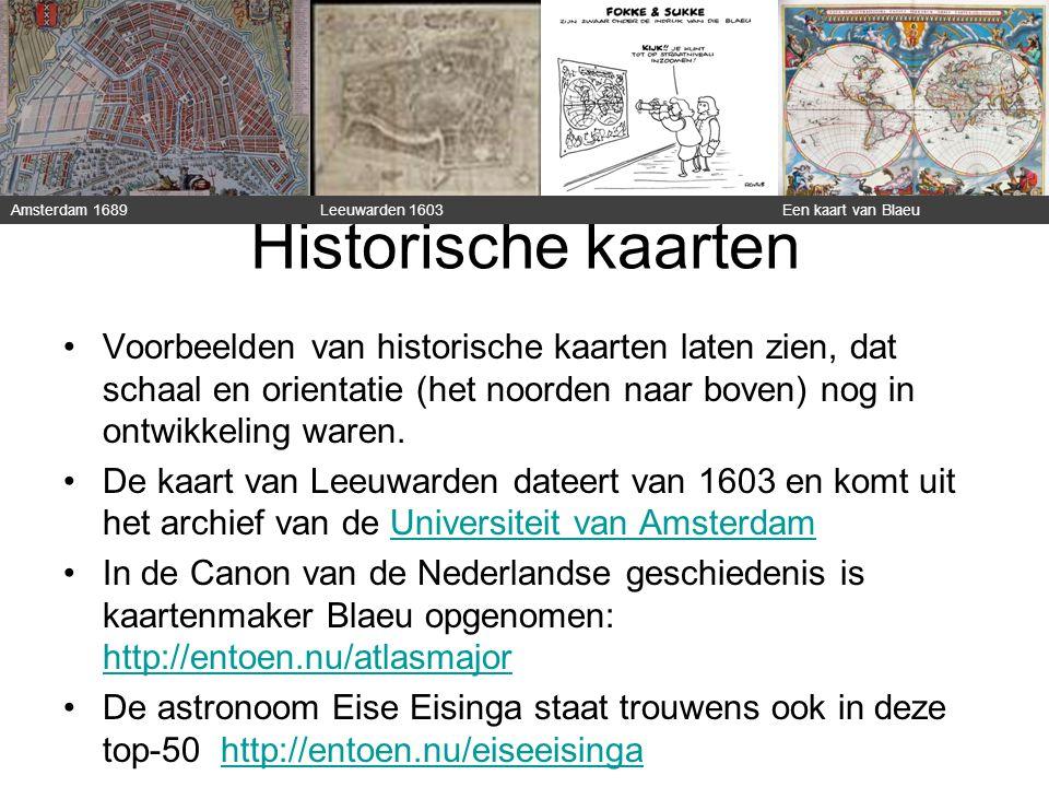 Historische kaarten