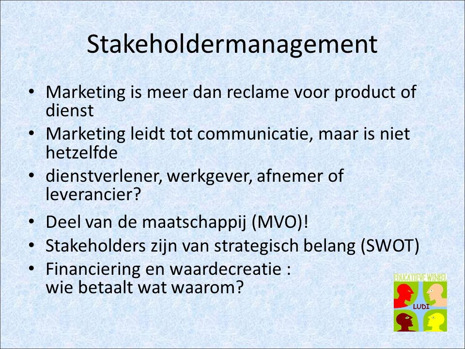 Stakeholdermanagement