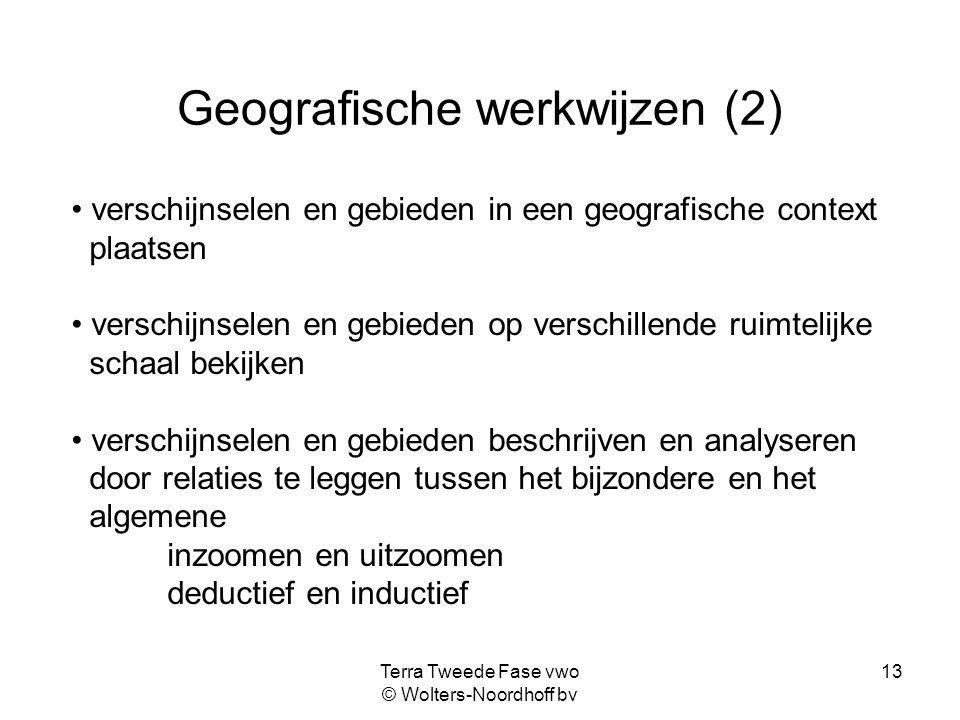 Geografische werkwijzen (2)