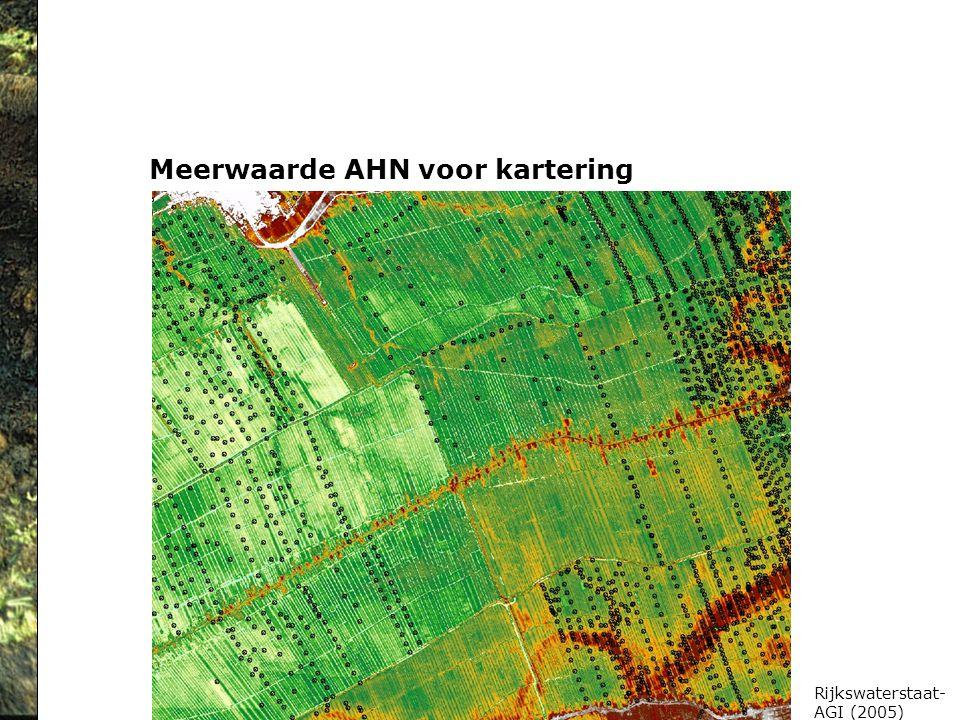 Meerwaarde AHN voor kartering