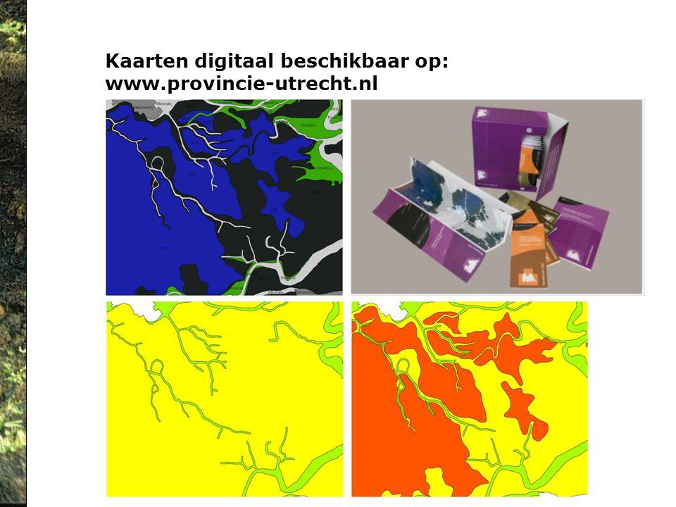 Kaarten digitaal beschikbaar op: