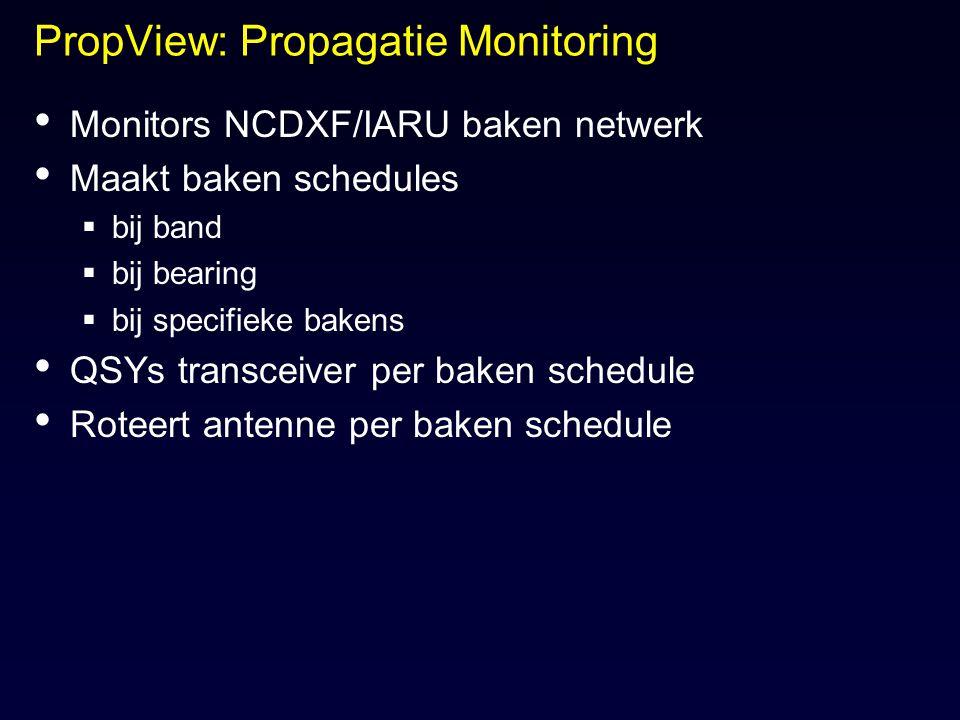 PropView: Propagatie Monitoring