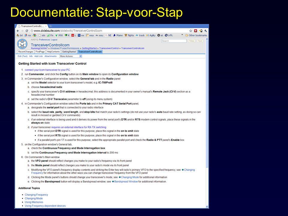 Documentatie: Stap-voor-Stap