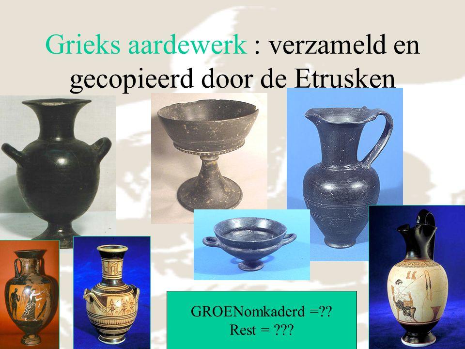 Grieks aardewerk : verzameld en gecopieerd door de Etrusken