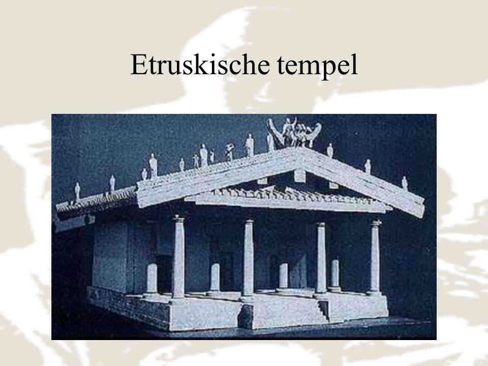 Etruskische tempel