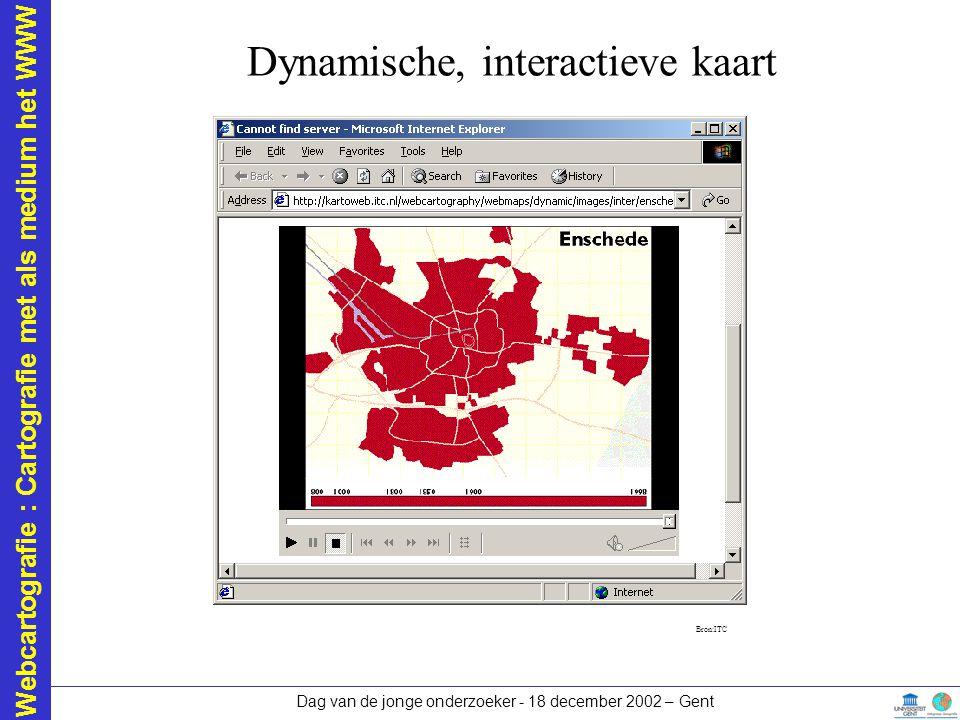 Dynamische, interactieve kaart