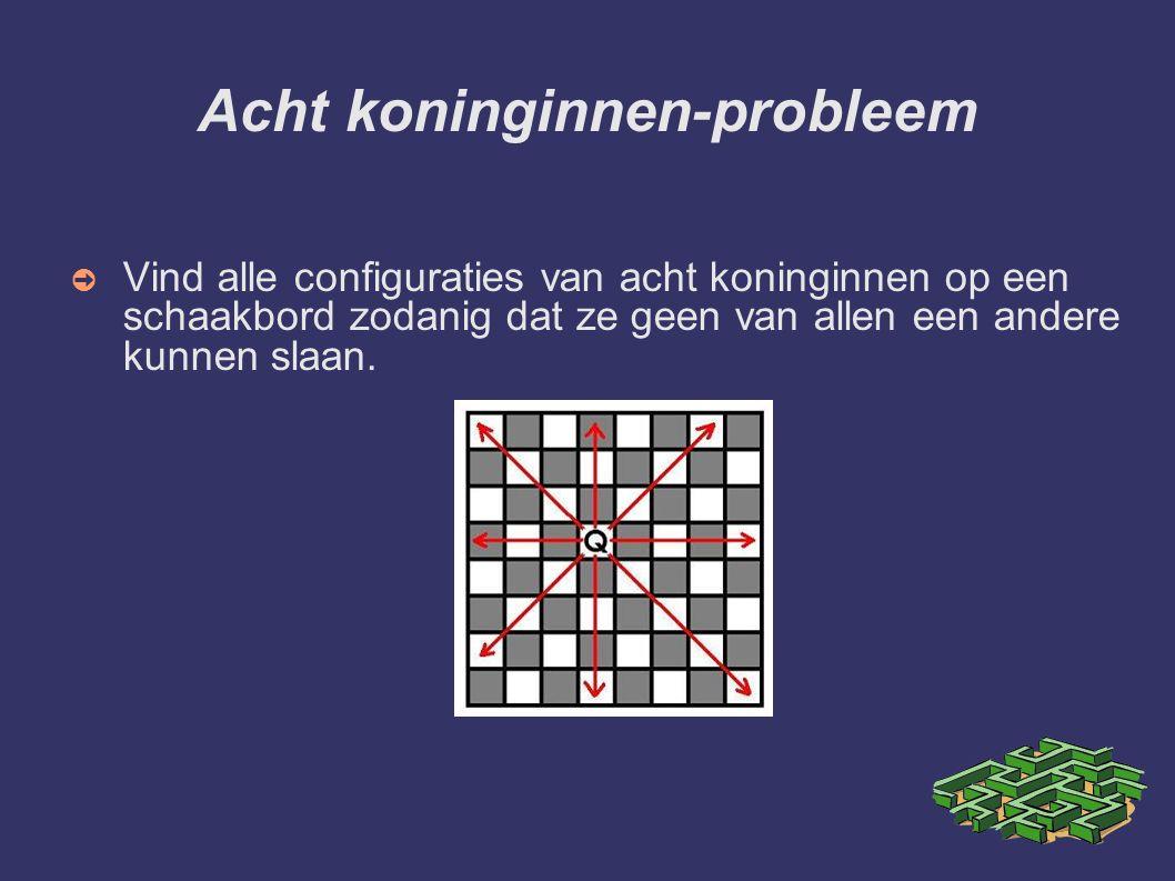 Acht koninginnen-probleem