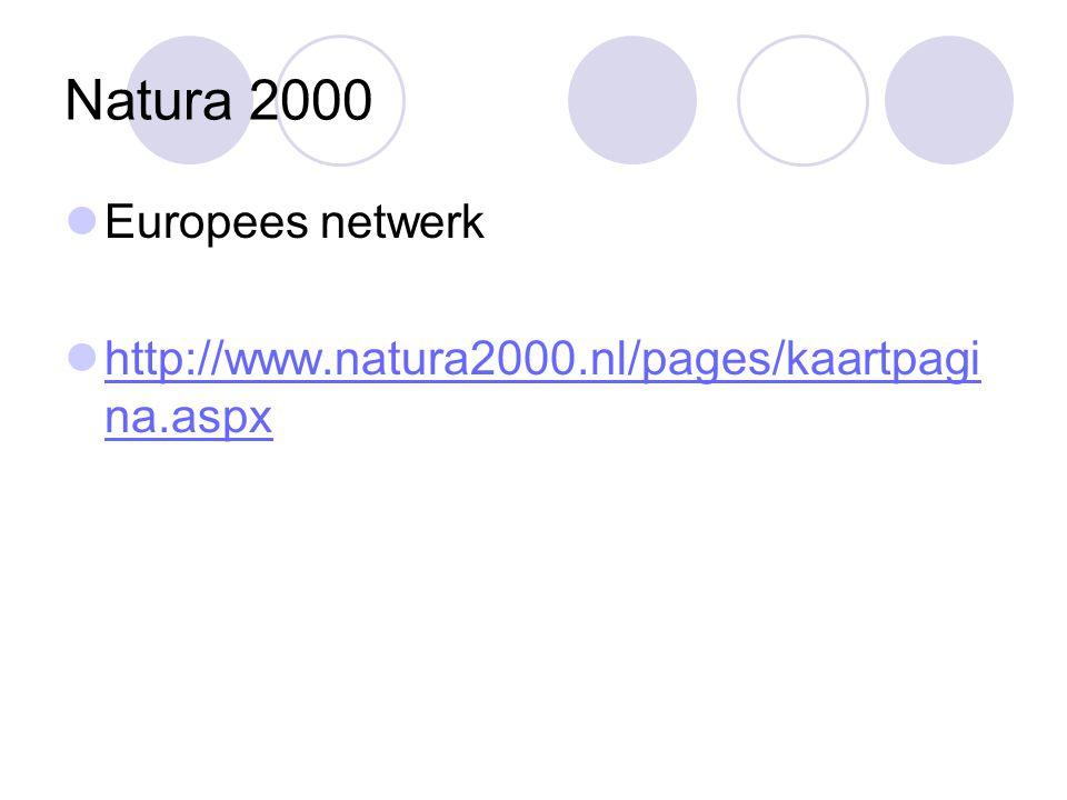 Natura 2000 Europees netwerk