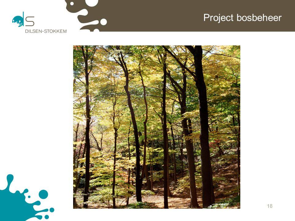 Project bosbeheer