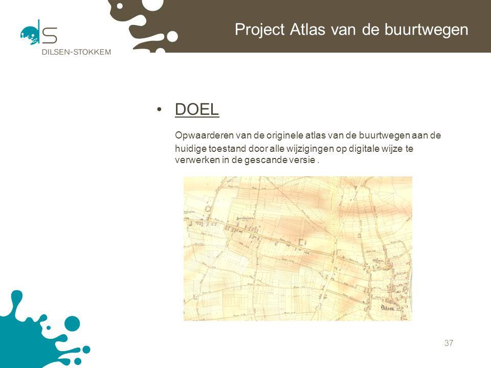 Project Atlas van de buurtwegen