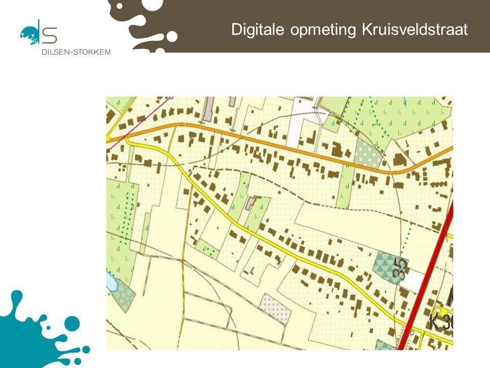 Digitale opmeting Kruisveldstraat
