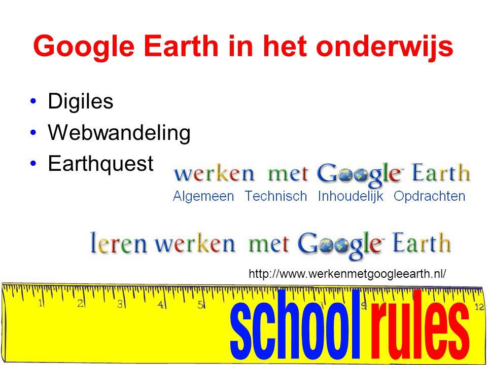 Google Earth in het onderwijs