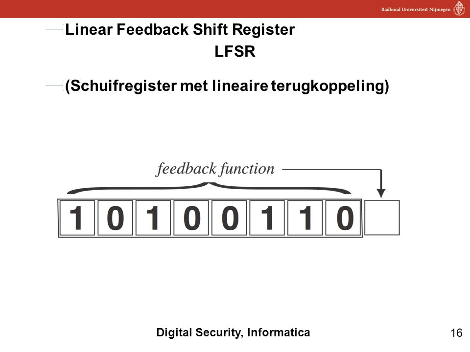 Linear Feedback Shift Register