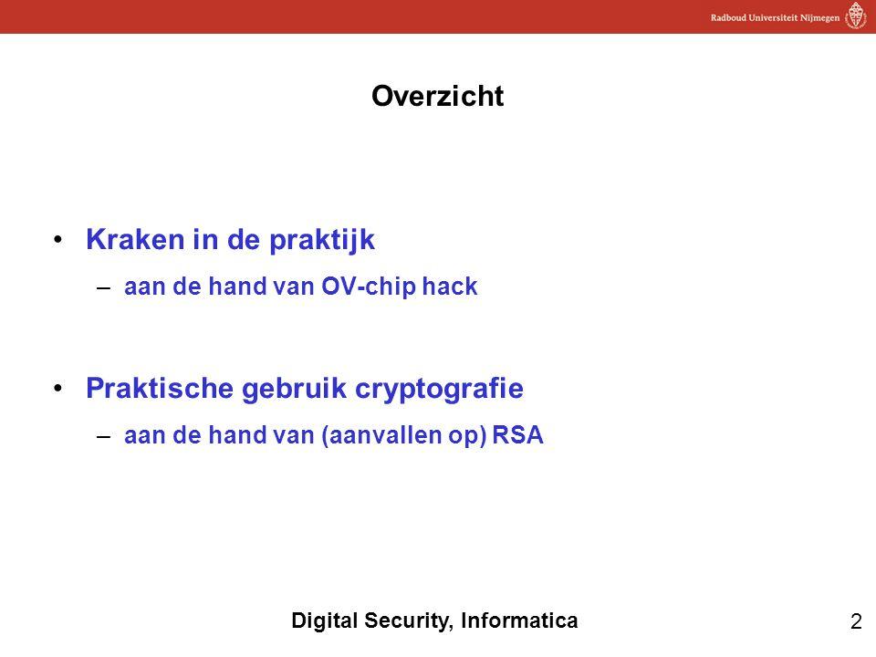 Praktische gebruik cryptografie