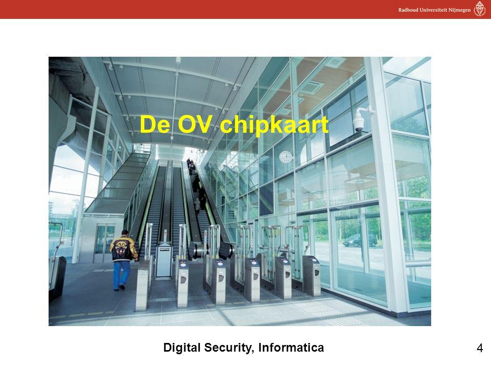 De OV chipkaart Onderzoek naar OV-chip: 2006 eerst privacy, daarna technische kant onderzocht