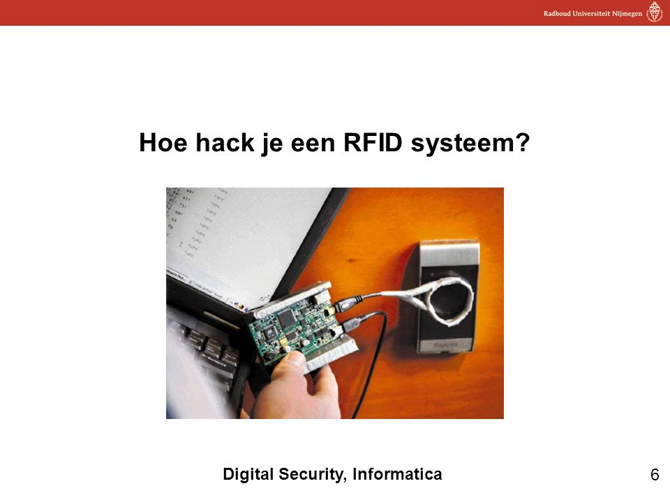 Hoe hack je een RFID systeem