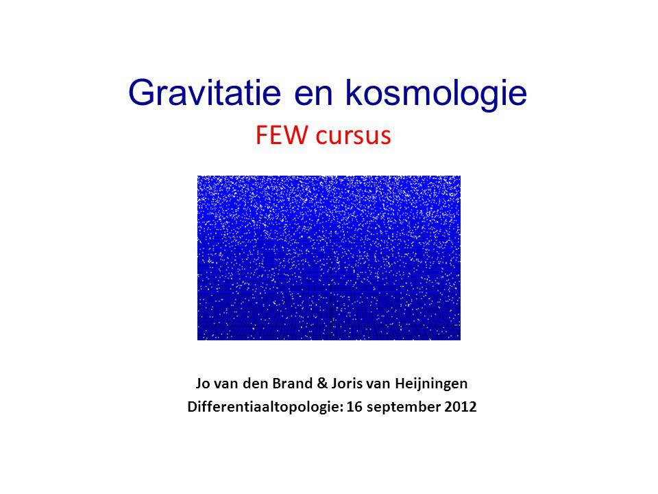 Gravitatie en kosmologie