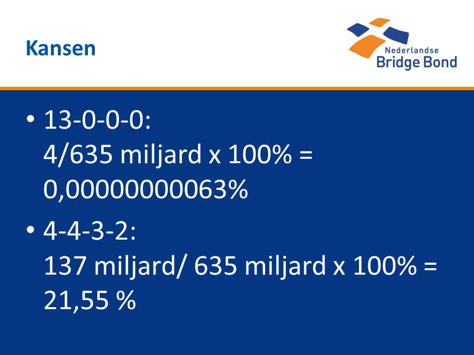 4-4-3-2: 137 miljard/ 635 miljard x 100% = 21,55 %