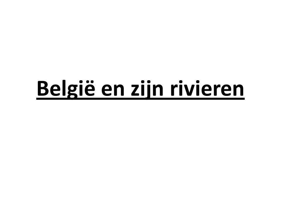 België en zijn rivieren