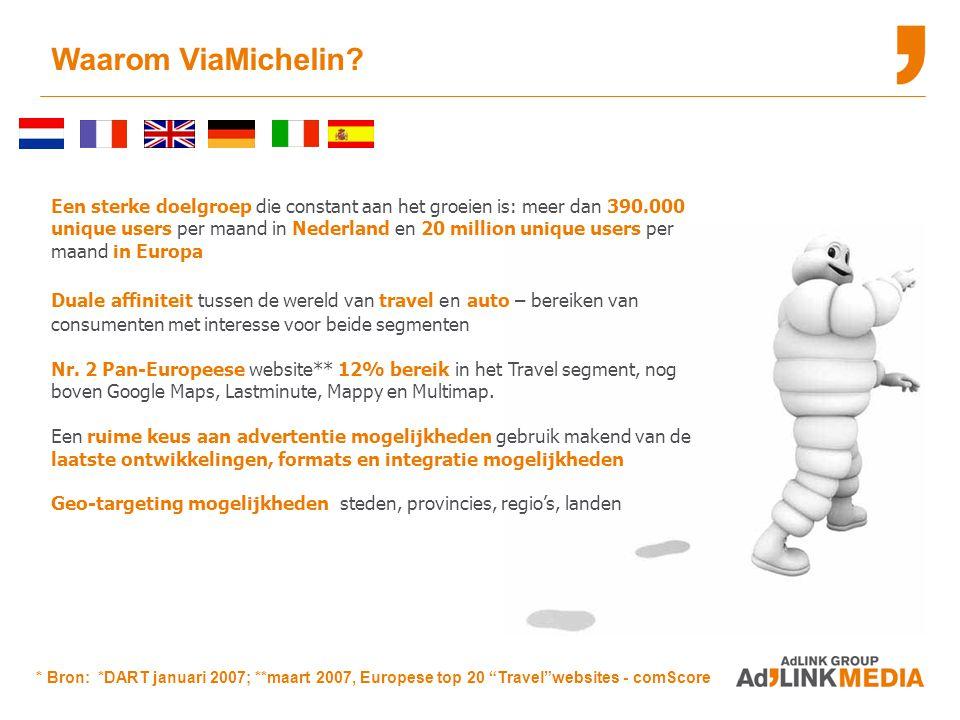 Waarom ViaMichelin