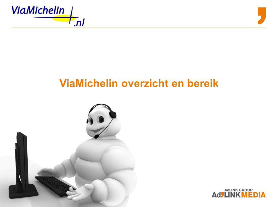 ViaMichelin overzicht en bereik