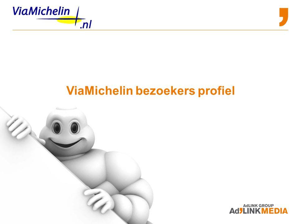 ViaMichelin bezoekers profiel