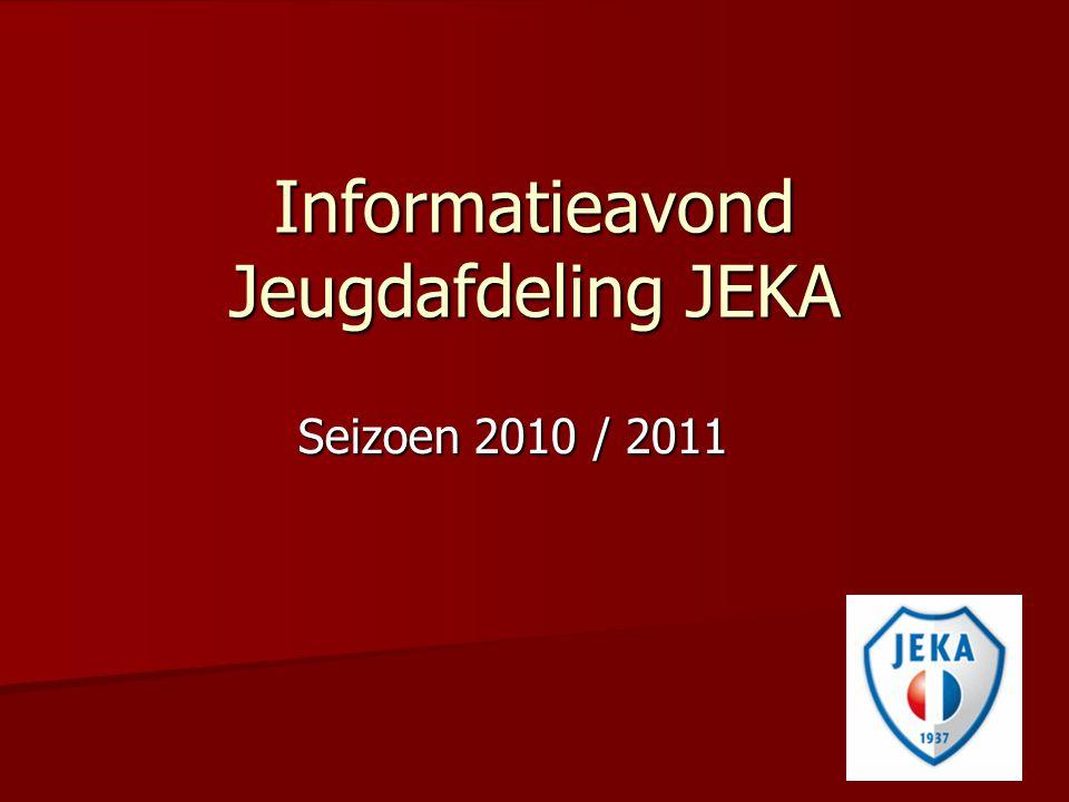 Informatieavond Jeugdafdeling JEKA