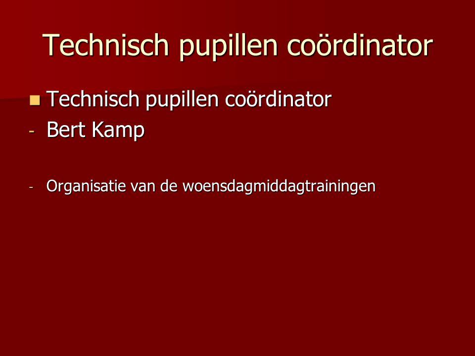 Technisch pupillen coördinator