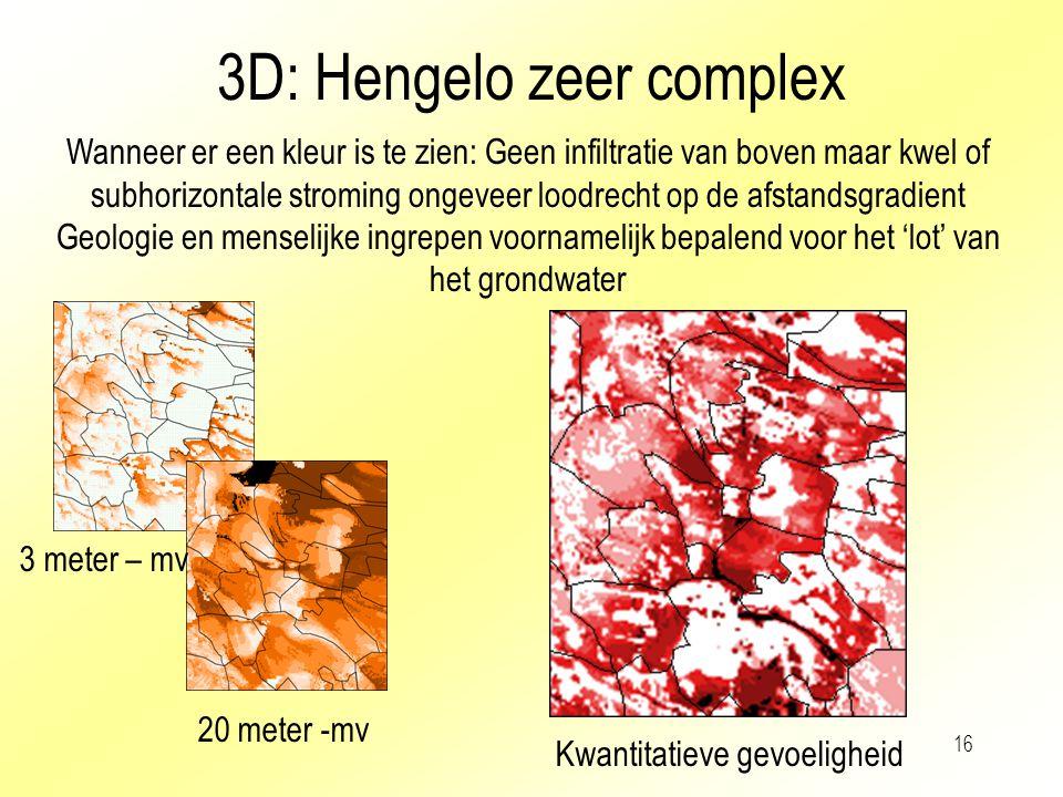 3D: Hengelo zeer complex