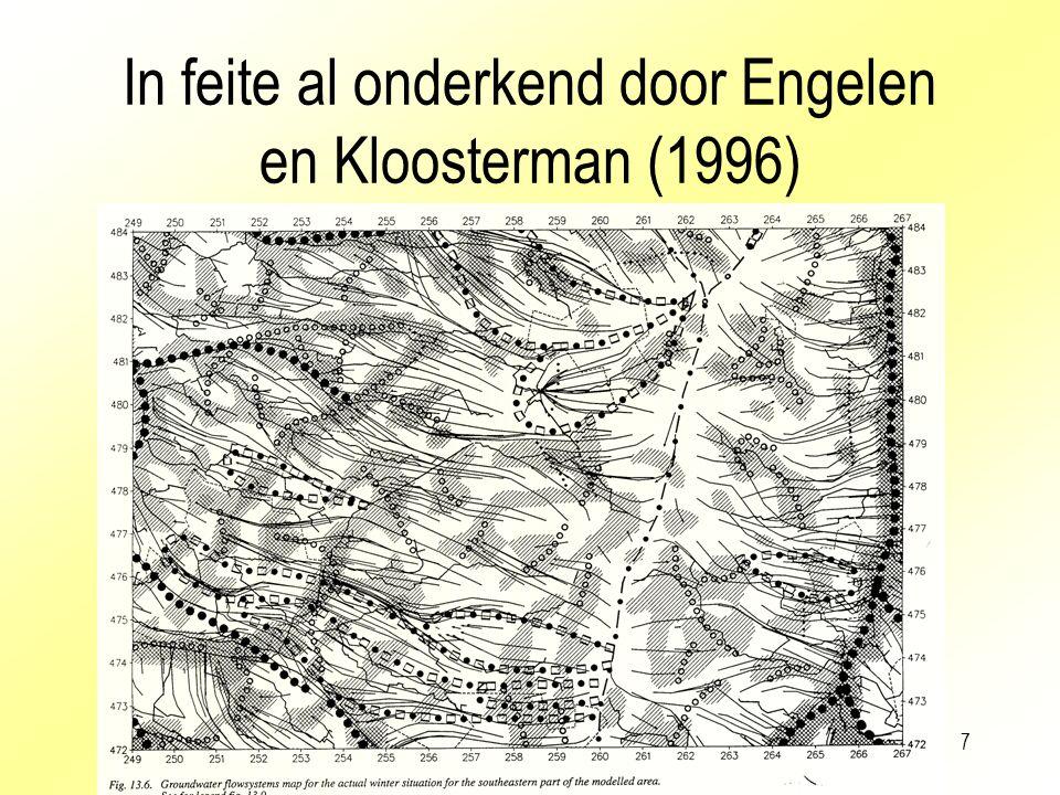 In feite al onderkend door Engelen en Kloosterman (1996)