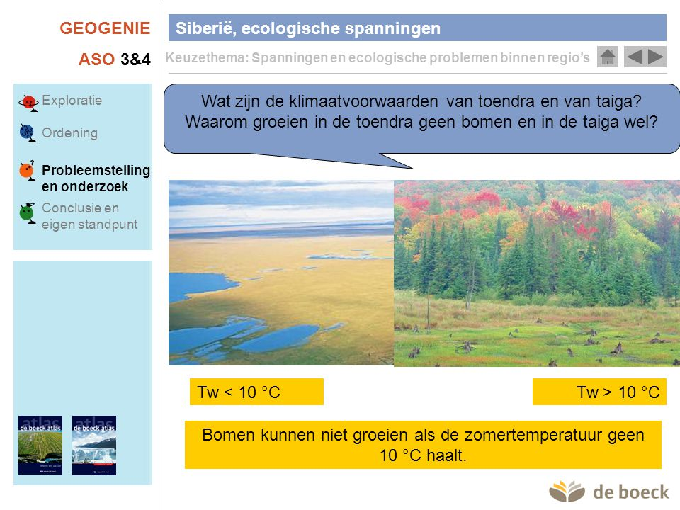 Siberië, ecologische spanningen