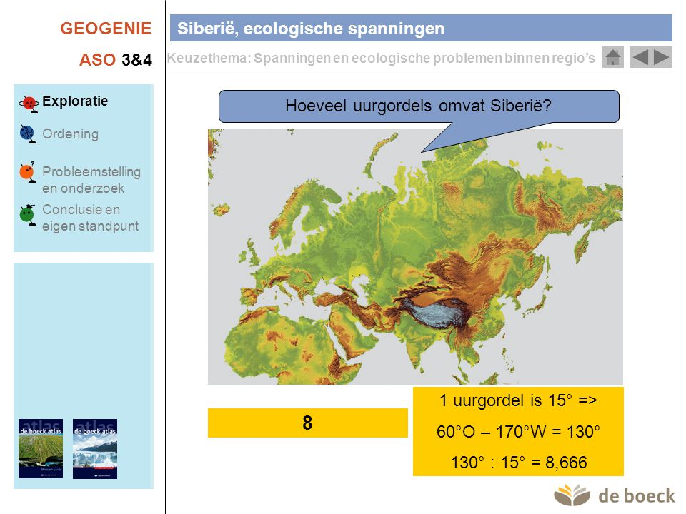 Hoeveel uurgordels omvat Siberië