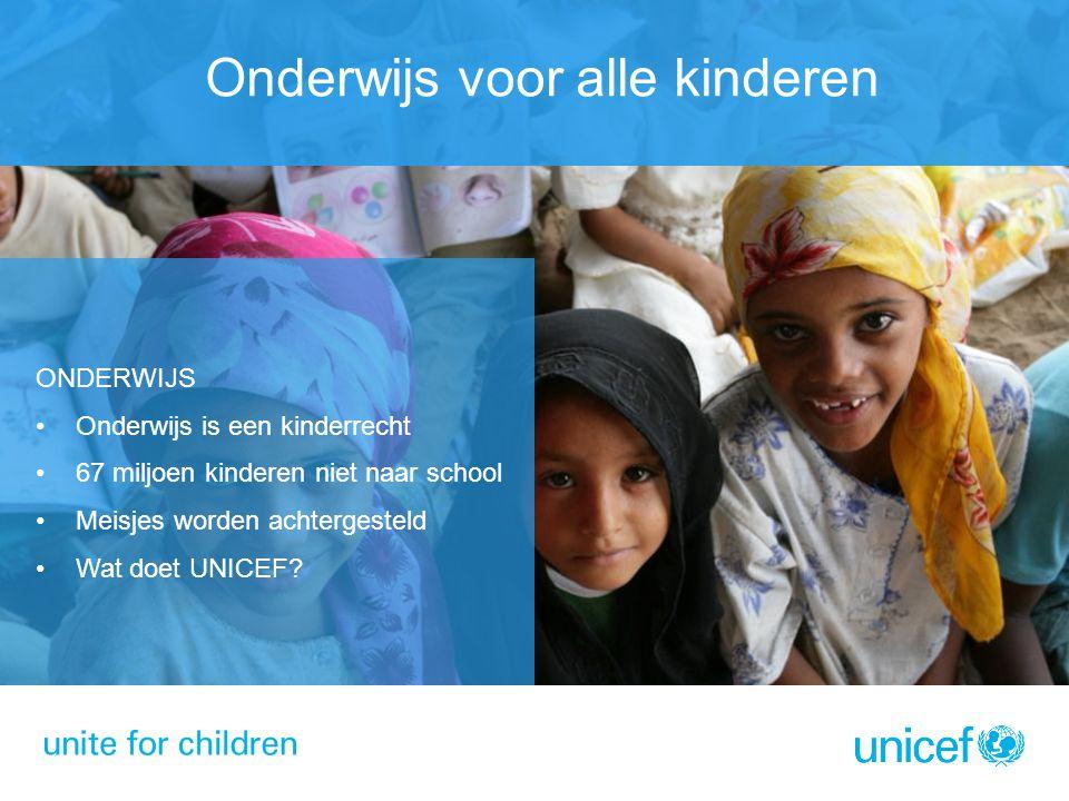 Onderwijs voor alle kinderen