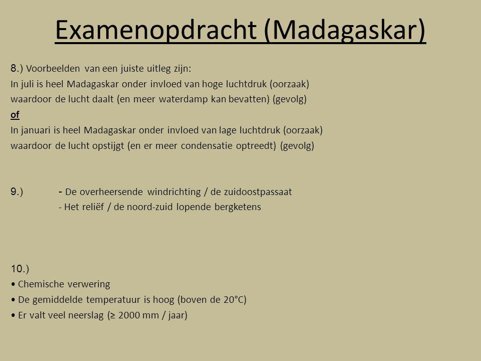 Examenopdracht (Madagaskar)