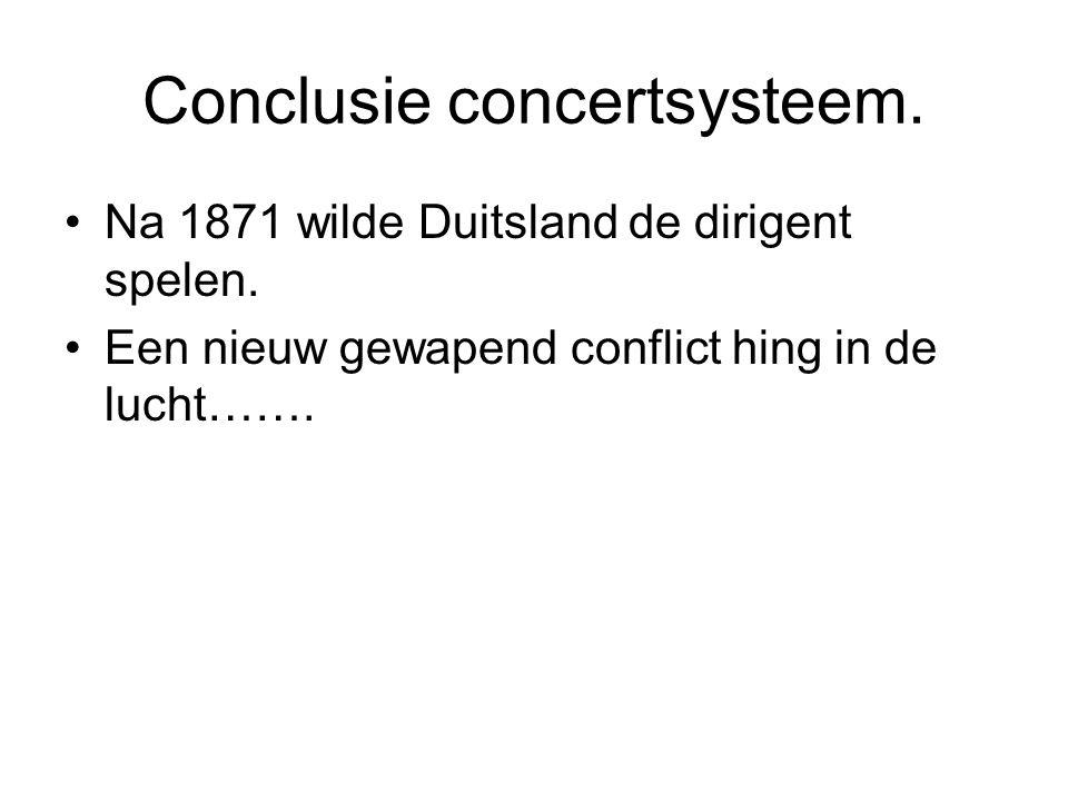 Conclusie concertsysteem.