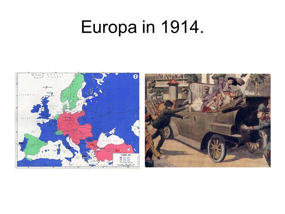 Europa in 1914.