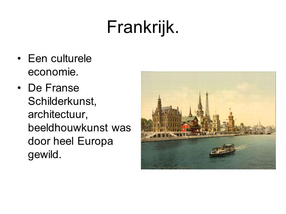 Frankrijk. Een culturele economie.