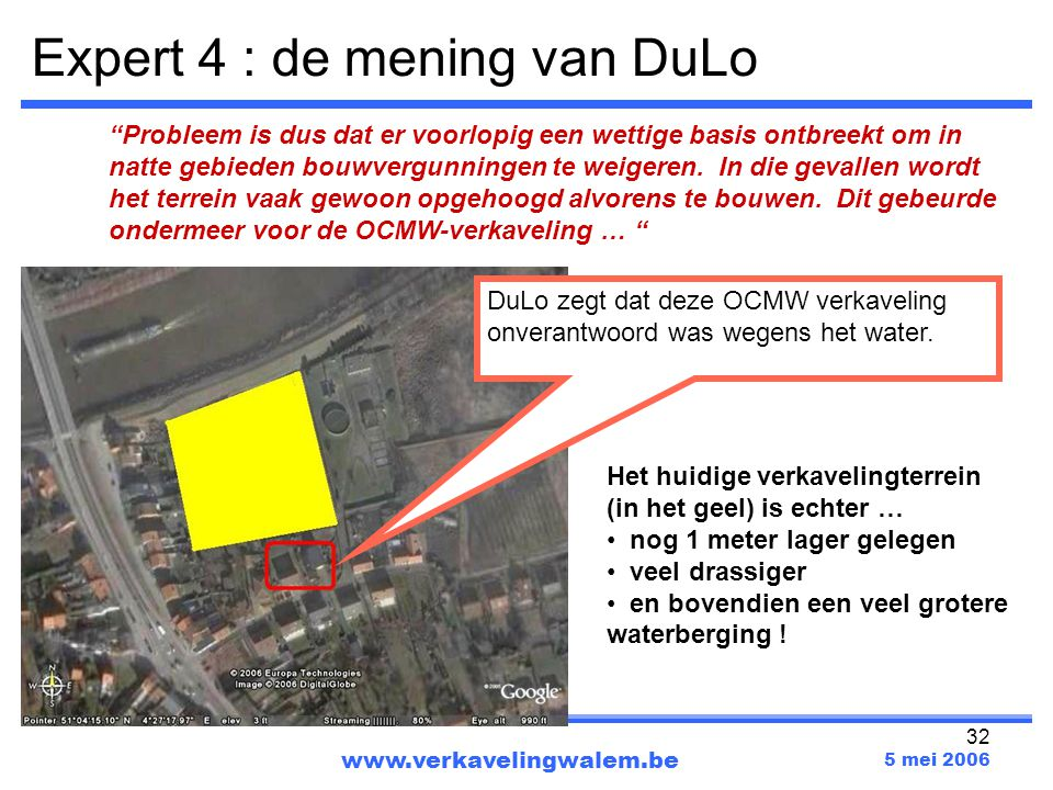 Expert 4 : de mening van DuLo