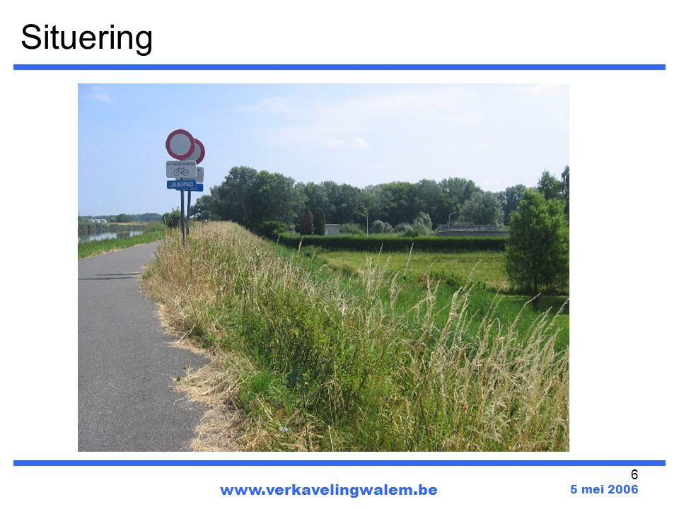 Situering www.verkavelingwalem.be 5 mei 2006