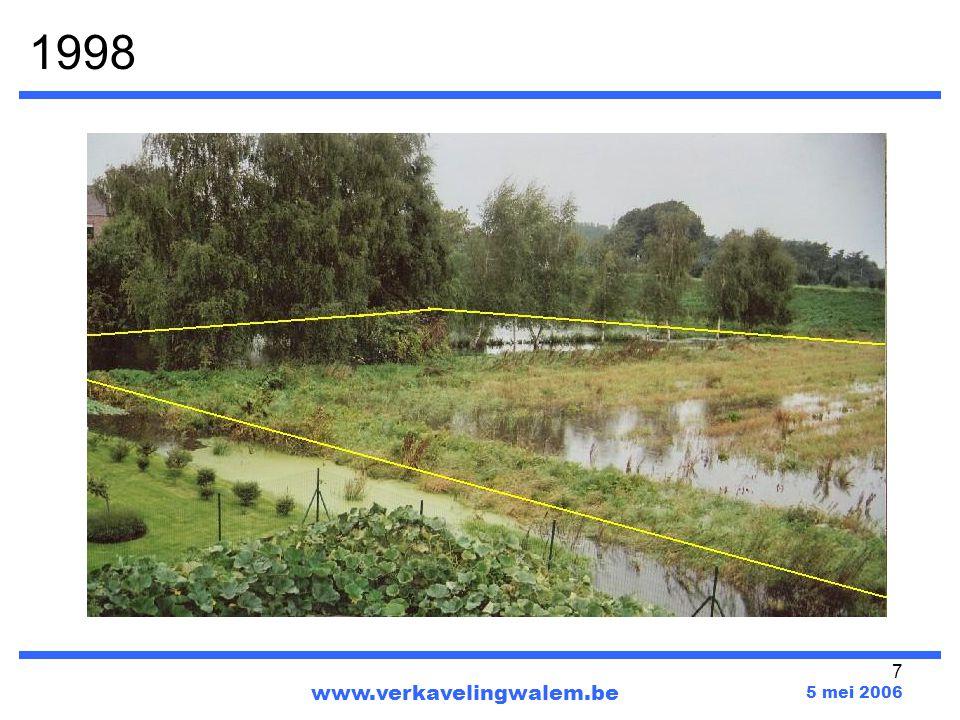 1998 www.verkavelingwalem.be 5 mei 2006