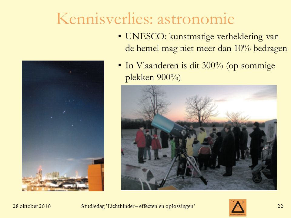 Kennisverlies: astronomie
