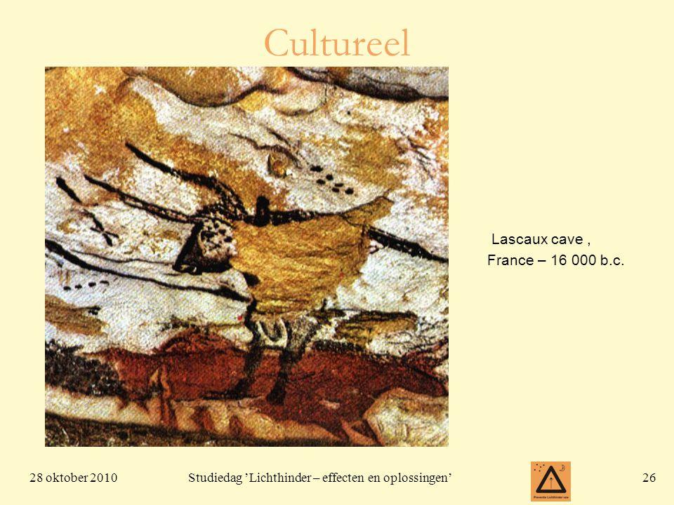 Cultureel Lascaux cave , France – 16 000 b.c.