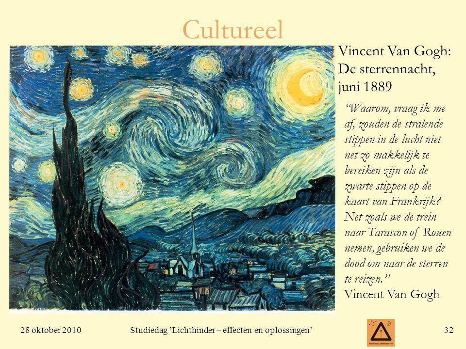 Cultureel Vincent Van Gogh: De sterrennacht, juni 1889