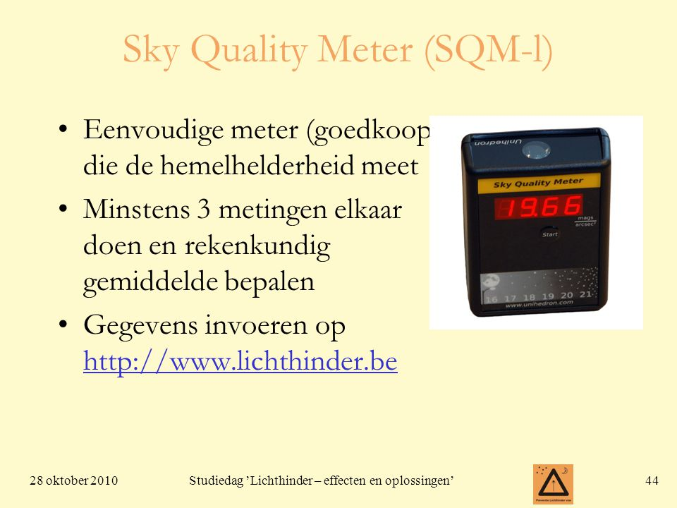 Sky Quality Meter (SQM-l)