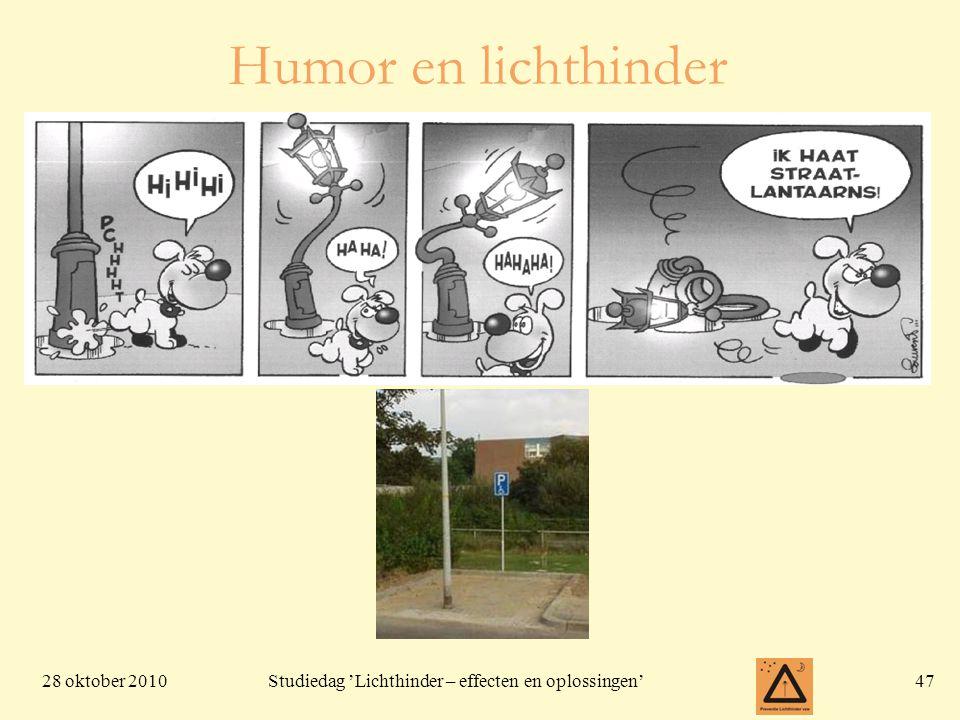 Humor en lichthinder
