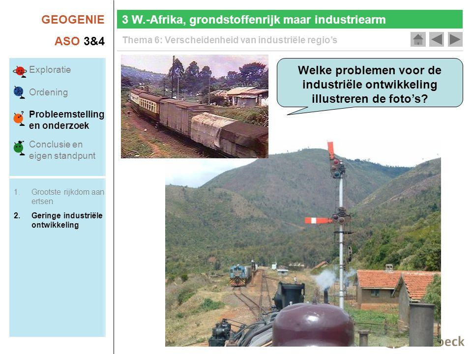 3 W.-Afrika, grondstoffenrijk maar industriearm
